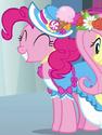 Pinkie Pie coronation dress ID S3E13