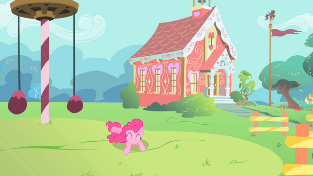 File:Pinkie Pie rolling around in the school playground S1E15.png