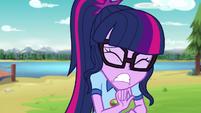 Twilight Sparkle hears a loud crash EG4
