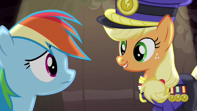 "File:Applejack ""This fashion show nonsense"" S4E21.png"