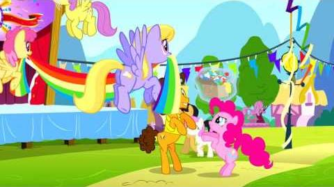 MLP FiM Pinkie The Party Planner (Reprise) HEBREW HD