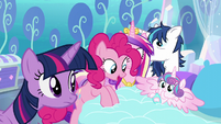"""Pinkie """"she could be a super-strong flyer"""" S6E1"""