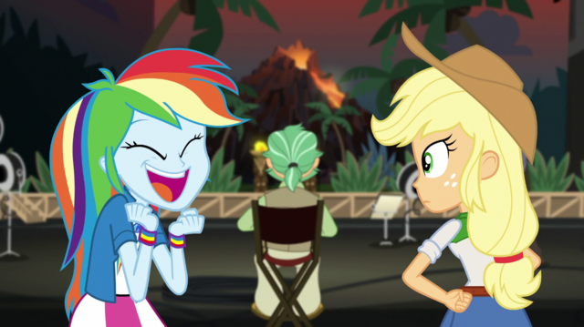 """File:Rainbow Dash shouting """"they were amazing!"""" EGS2.png"""