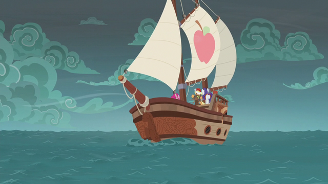 File:The ponies' ship sails into the maelstrom S6E22.png