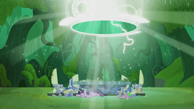 File:Twilight and Spike land in a new timeline S5E25.png