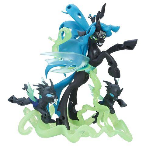 File:Guardians of Harmony Fan Series Queen Chrysalis and Changelings figure.jpg