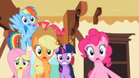 Rainbow Dash oh this isn't good S2E10