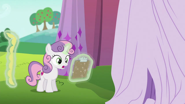 "File:Sweetie Belle ""it doesn't have to be yellow"" S6E14.png"