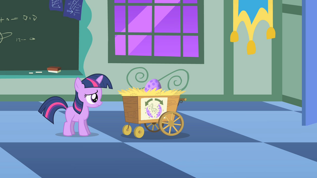 Datei:Twilight Sparkle flashback nervous entrance exam S1E23.png
