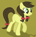 Apple Fritter with dark-brown mane ID S4E22