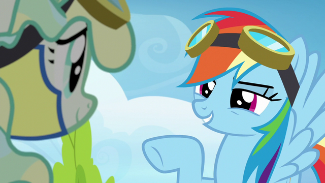 """File:Rainbow """"the first nice thing I've heard you say"""" S6E24.png"""