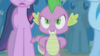 "Spike ""what we need is another unicorn"" S1E06"