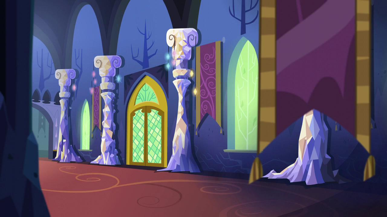 image - twilight's castle interior 2 s5e3 | my little pony
