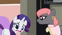 Rarity Takes Manehattan promo Entertainment Weekly