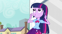 Twilight twirling her fingers EG3
