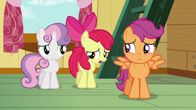"File:Apple Bloom ""well, not exactly"" S6E19.png"