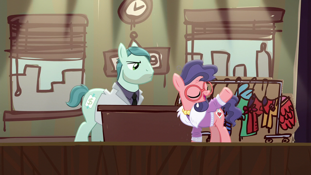 """File:Charity Kindheart """"brought samples of my work"""" S5E16.png"""