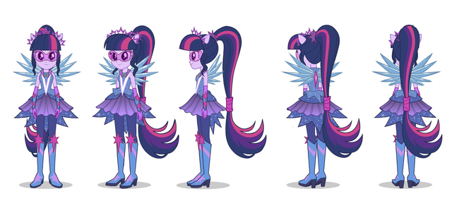 File:Legend of Everfree - Crystal Guardian Sci-Twi turnaround by Madison Tuff.png