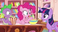 "Pinkie Pie ""just wait until you hear"" S6E22"