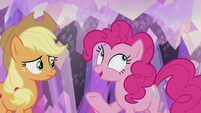 "Pinkie Pie ""what's more fun than getting a present?"" S5E20"