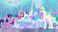 "Princess Celestia ""more important than ever"" S6E1"
