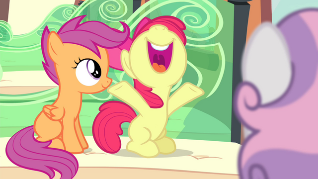 "File:Apple Bloom ""I'm such a huge fan!"" S4E19.png"