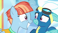 Fleetfoot weirded out by Windy Whistles S7E7
