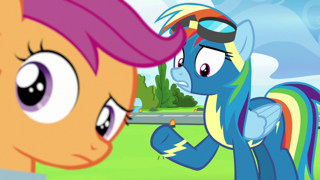"""File:Rainbow Dash """"and we're really close"""" S7E7.png"""