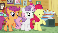 "Apple Bloom ""will be back to bein' besties!"" S7E6"