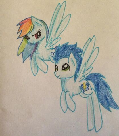 File:FANMADE RAinbow Dash and Soarin.jpg