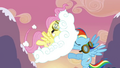 Fluttershy caught with a cloud S2E22.png