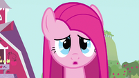 Pinkie Pie cute worried expression S3E13
