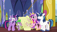 "Princess Cadance ""are you sure you can watch her?"" S7E3"