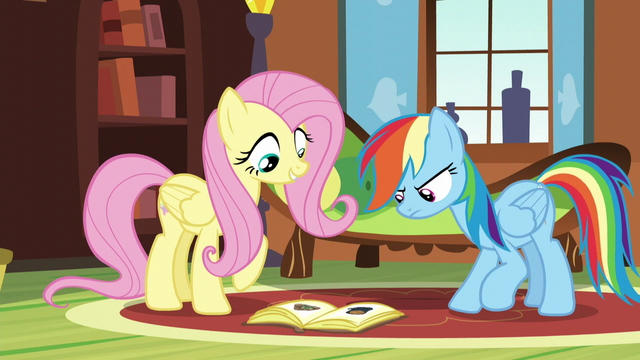 "File:Fluttershy ""Even tortoises do it!"" S5E5.png"