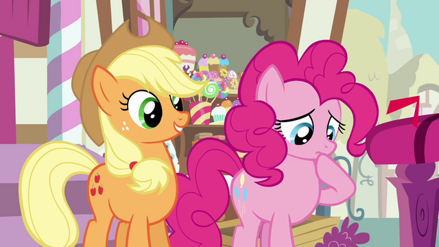 File:Pinkie Pie thinking S3E07.png