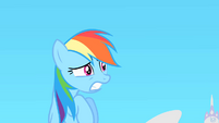 Rainbow Dash petrified S1E16