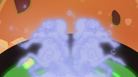 Smoke-like windigos comes out of the cauldron S06E08