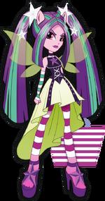 Aria Blaze Rainbow Rocks character bio art