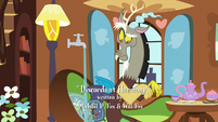 Discord has nothing to dry his hands with S7E12