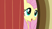 Fluttershy behind the door S4E16