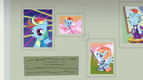 More pictures of Rainbow Dash on the wall S7E7