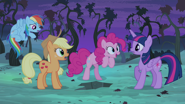 """File:Pinkie Pie """"let's save Fluttershy..."""" S4E07.png"""