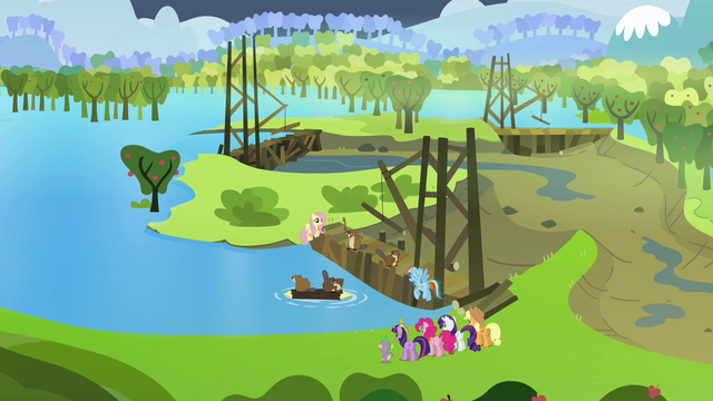 File:Sweet Apple Acres flooded S03E10.png