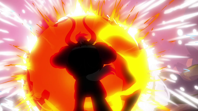 File:Tirek trying to overcome the magic beam's force S4E26.png