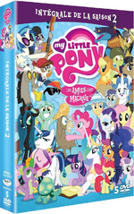 Season 2 French DVD cover sideview