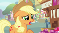 Applejack 'Give her a chance to settle in first' S3E07.png