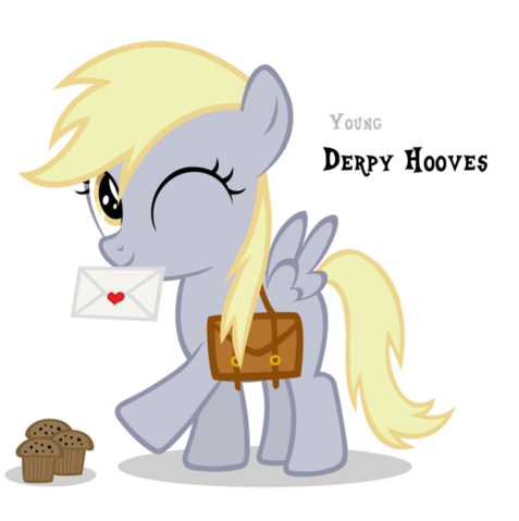 File:FANMADE Young Derpy Hooves.png