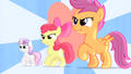 CMC walking with heart in the background S4E05.png