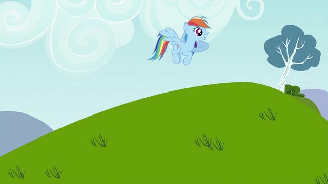 File:Rainbow Dash calling Tank S2E07.png