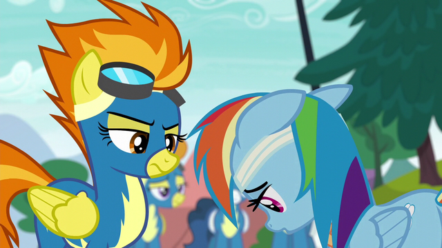 File:Rainbow Dash hangs her head in shame S6E7.png